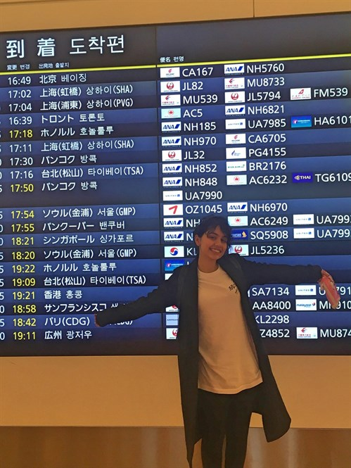 Alessia _空港