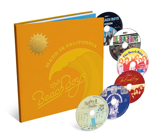 The Beach Boys - Made In California - Product Shot