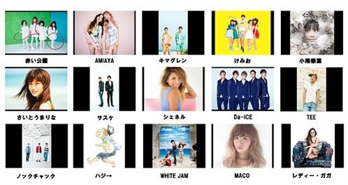 【FIX】Twit Casting Music Week _アーティストラインナップ