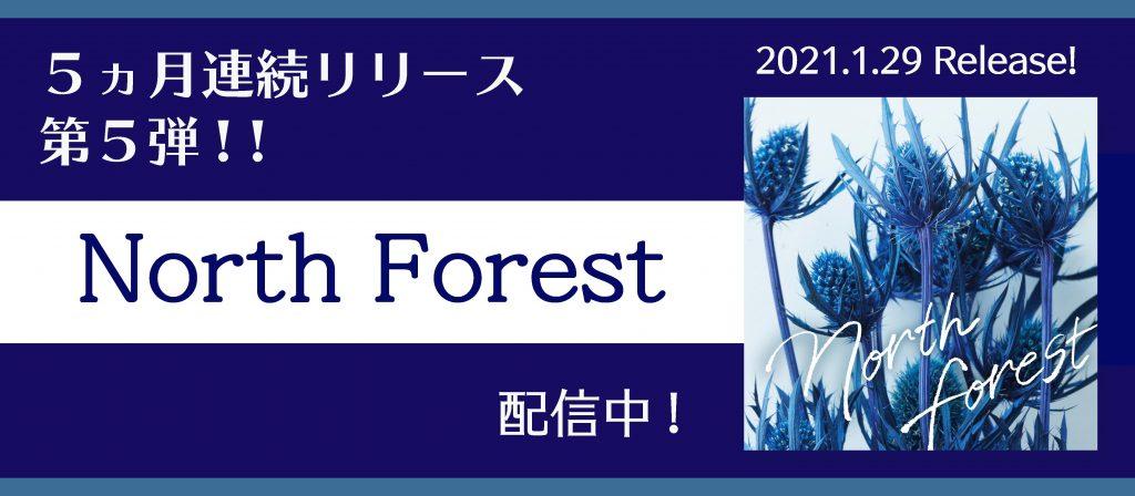 North Forest バナー