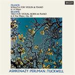 フランク:ヴァイオリン・ソナタ/ブラームス:ホルン三重奏曲