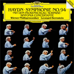 ハイドン:交響曲第94番《驚愕》、協奏交響曲