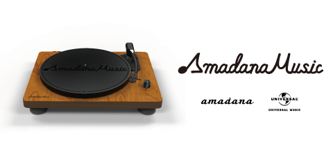 amadana×ユニバーサル ミュージックのコラボプロジェクト「Amadana Music」。