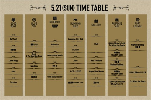 Greenroom 2017timetable -2