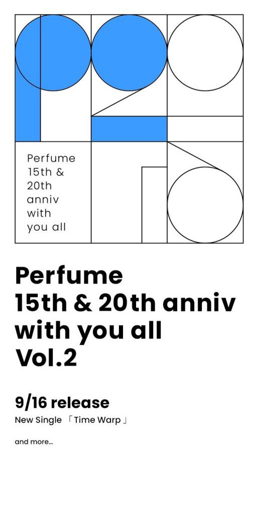 Perfume 15th&20th anniv with you all Vol.2