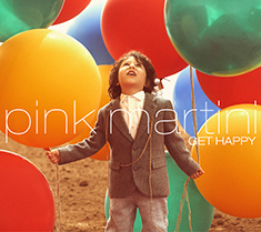 「GET HAPPY」日本盤ジャケット写真