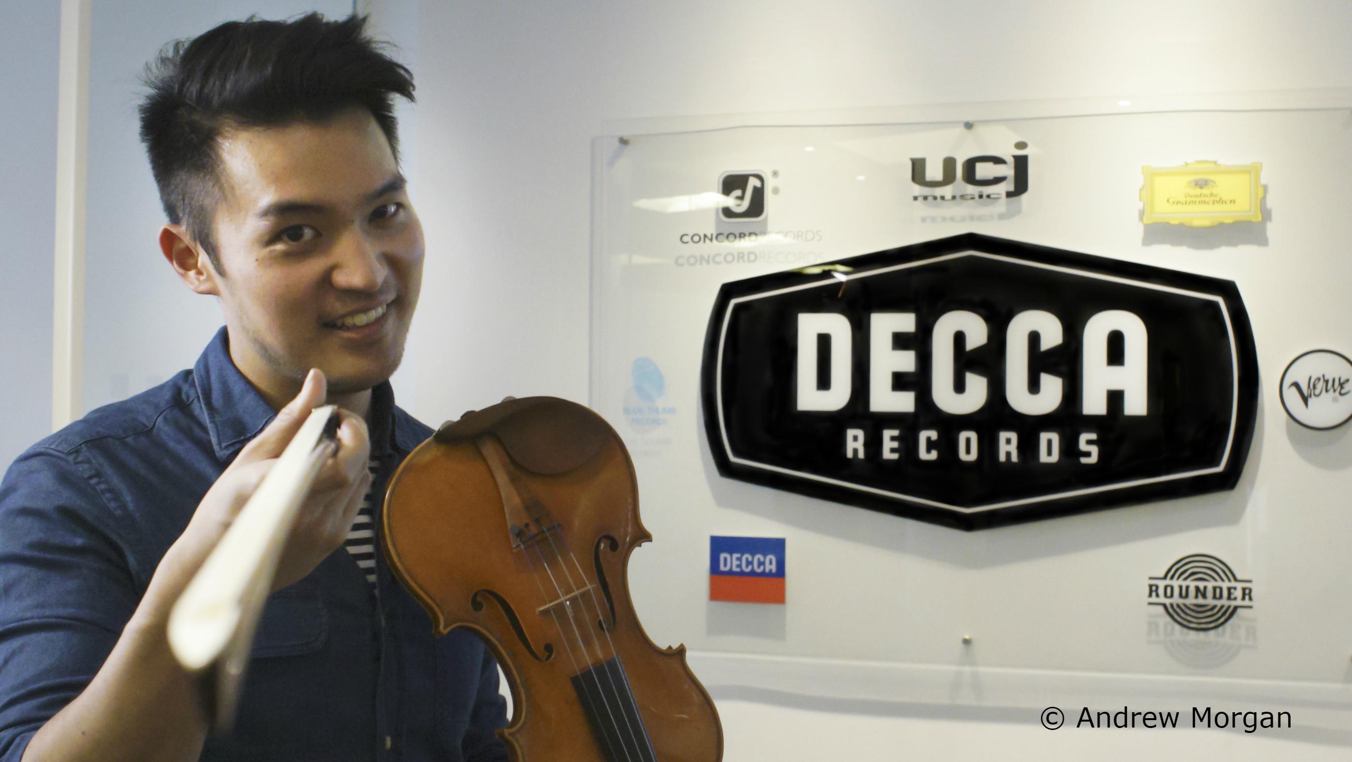 Ray Chen Decca Signing Credit Andrew Morgan