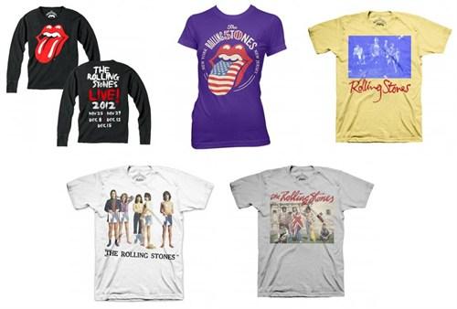 The Rolling Stones 2012 Tour Item 第1弾