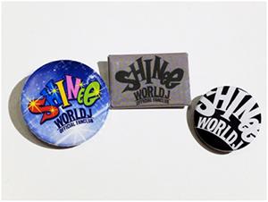 SHINee WORLD Jオリジナル缶バッチ