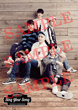 Shinee _clear -poster _sample
